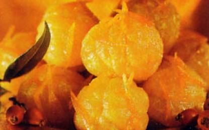 Mandarine flambate
