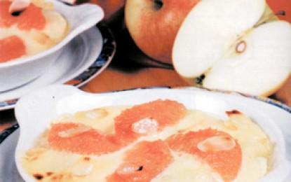 Castronele cu mere și grepfrut