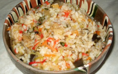 Pilaf de legume
