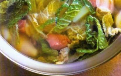 Supă franțuzească de varză