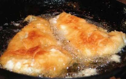 Pește cu sos de usturoi