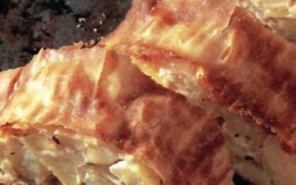 Ștrudel de cartofi
