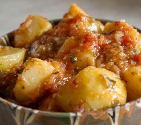 Tocăniță de cartofi