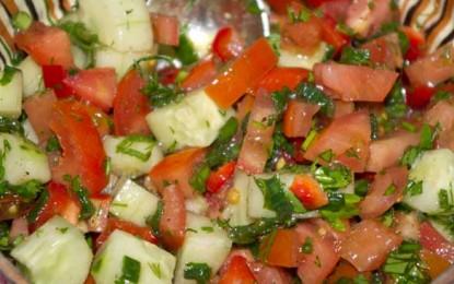 Omleta cu ciuperci, costiță și ardei gras