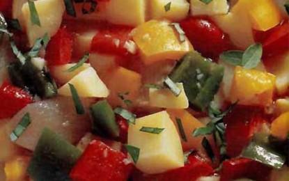 Salată italiană de cartofi