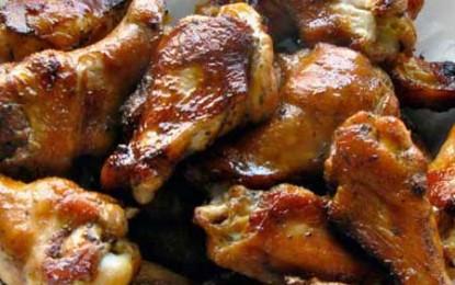 Aripioare de pui cu miere și muștar