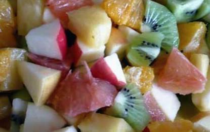 Salată creolă de fructe