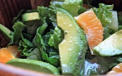 Salată de portocale cu avocado
