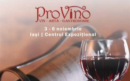 Festivalul PROVINO – vinul, arta și gastronomia își dau întâlnire în noiembrie la Iași