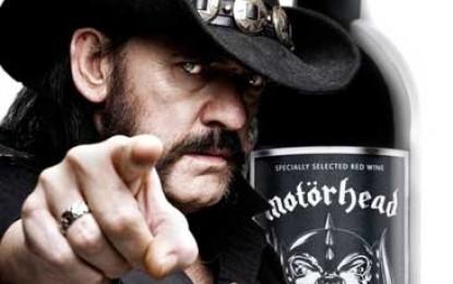 Motörhead își lansează vinul în Marea Britanie