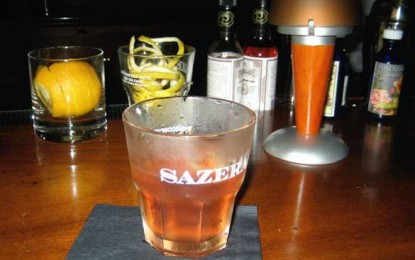 Sazerac, legendarul cocktail din New Orleans