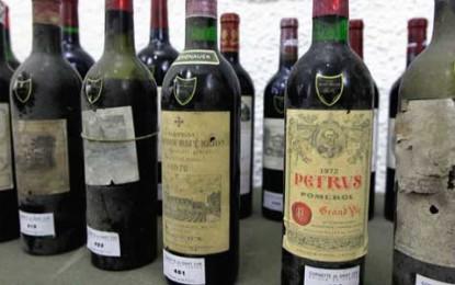 Peste 250.000 de euro pentru vinurile lui Alain Delon