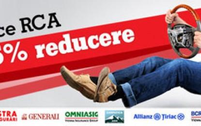 Discount de 15% pentru orice asigurare RCA