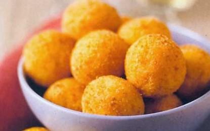 Suppli, adică crochete de orez cu mozzarella