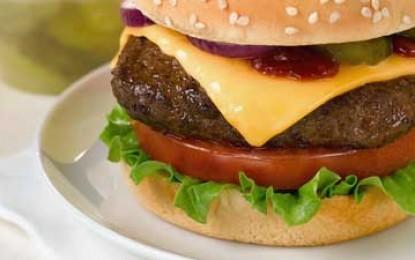 Cheeseburgerul a apărut din greșeală