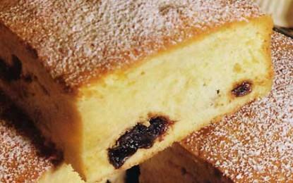 Prăjitură cu prune uscate