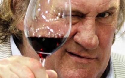 Gerard Depardieu a ajuns podgorean în Crimeea