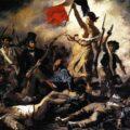 Libertatea conducand poporul Delacroix 1830