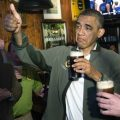 Obama bere
