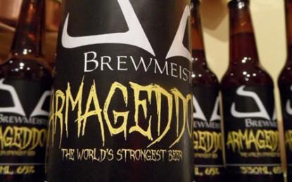 Armageddon: cea mai tare bere din lume are 65 de grade!