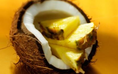 A fost inventat ananasul cu aromă de nucă de cocos