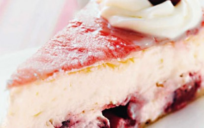 Cheesecake cu vișine