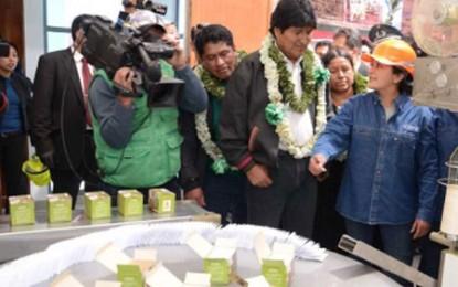 Bolivia a inaugurat prima fabrică de preparate pe bază de coca