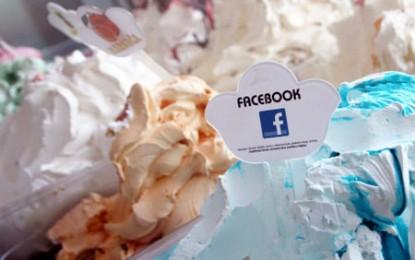 A apărut înghețata cu aromă de facebook!