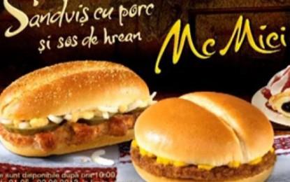 McDonald's ne pregătește McMici