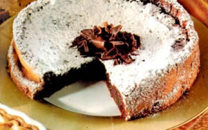 Tort de ciocolată cu scorțișoară