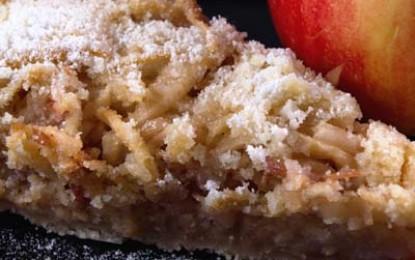 Prăjitură de mere cu griș