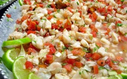 Ceviche, adica pestele marinat al Americii de sud