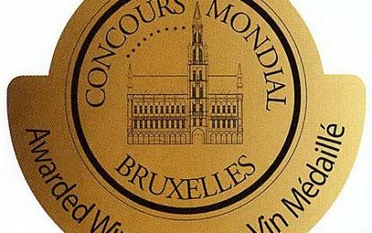 5 medalii de aur şi 2 de argint la Concours Mondial de Bruxelles 2010