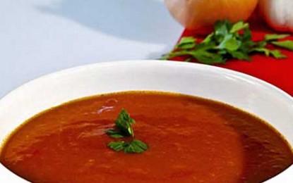 Supa de roșii a lui Păstorel
