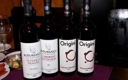 Aproape 8 vinuri de la Budureasca