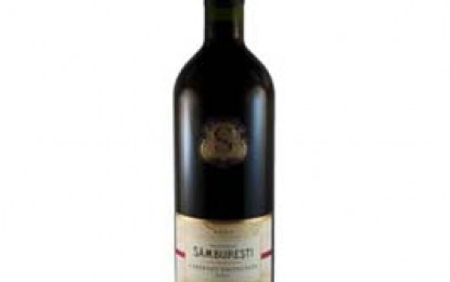 Domeniile Samburesti, Cabernet Sauvignon, 2009, DOC-CMD, sec