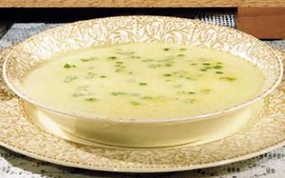 Vichyssoise, sau despre supe-cremă de praz și cartofi