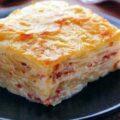 Lasagna de cartofi