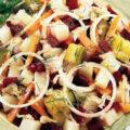 Salată rusească Vinegret de sfeclă, cartofi și morcovi