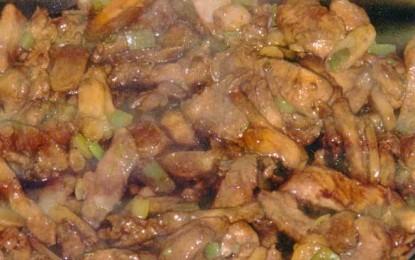 Pui cu nuci de Cajou