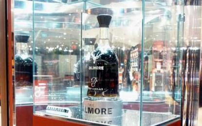 200.000 de dolari pentru o sticlă de whisky. La duty free!
