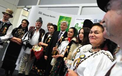 Degustare de vinuri românești la Săptămâna Verde de la Berlin