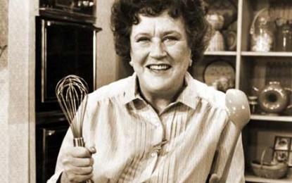 Castraveți cu ciuperci și smântână, recomandați de Julia Child