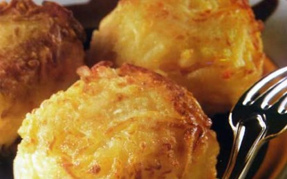 Chifteluțe de cartofi umplute