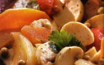 Ciuperci a la grec