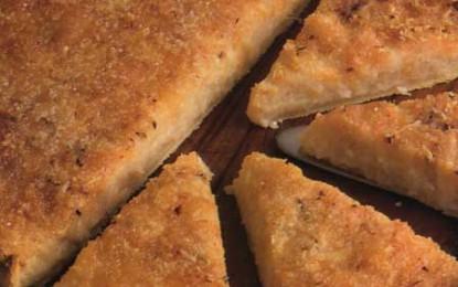 Tartă cu ceapă și brânză