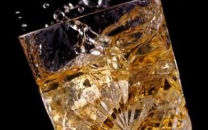 Un whisky scoțian cât se poate de extraterestru