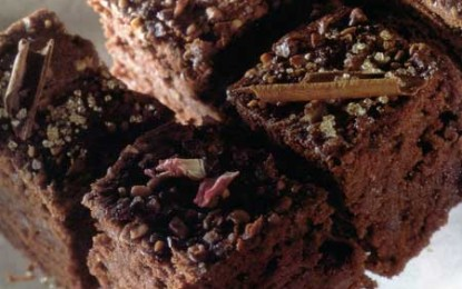 Negrese (brownies) cu scorțișoară