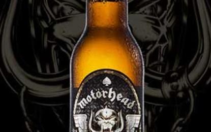 După votcă și vin, fanii Motörhead se pot drege cu bere