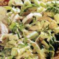 Salata de pui cu verdeturi